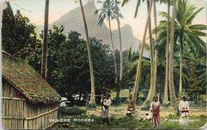Vaihere Moorea Tahiti French Polynesia F. Homes Postcard F67