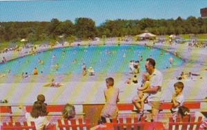 New York Albany Thacher State Park Swimming Pool