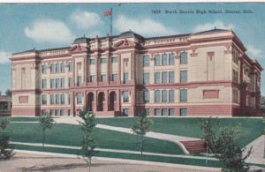 Colorado Denver North Denver High School 1919