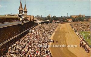 The Kentucy Derby Louisville, Kentucky, KY, USA Unused