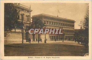 Old Postcard Roma Palazzo SML Regina Margherita