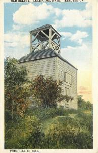 Lexington Massachusetts~1761 Built Old Belfry 1920 Postcard