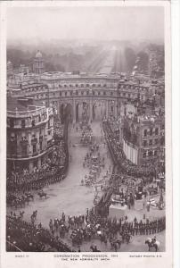 Coronation Procession 1911 The New Admiralty Arch Real Photo