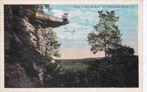 Wisconsin Visor Ledge Dells Of The Wisconsin River 1926