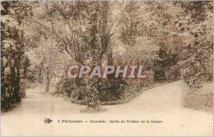 Postcard Old Perigeux Undergrowth Garden Theater of Nature
