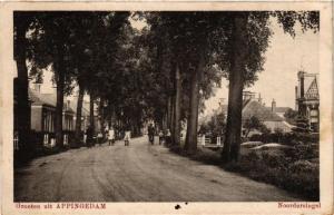 CPA Groeten uit APPINGEDAM Noorder singel NETHERLANDS (706249)
