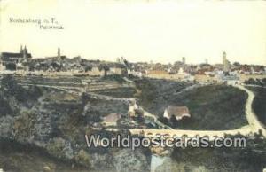Rothenburg o T Germany, Deutschland Postcard