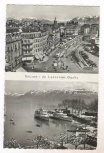 RP  Souvenir de Lausanne - Ouchy , Switzerland, 40-50s