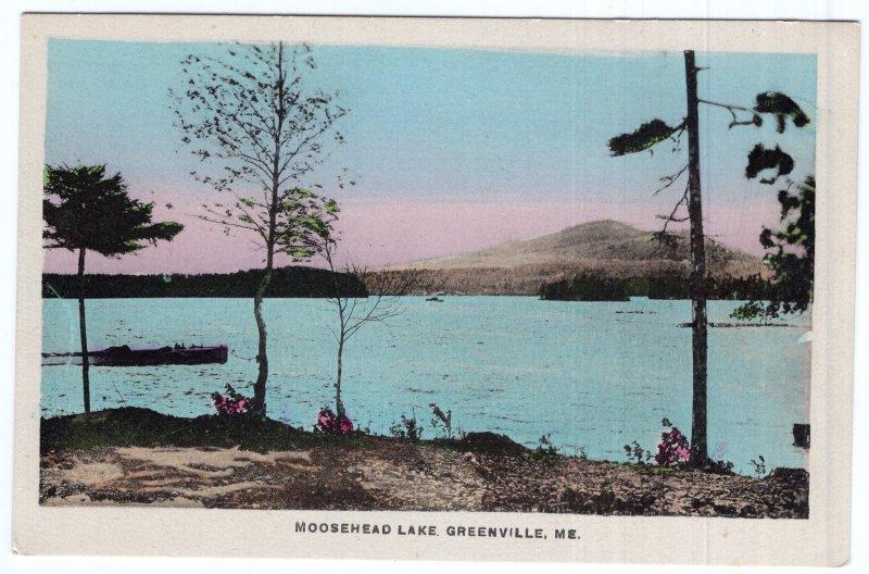 Greenville, Me, Moosehead Lake