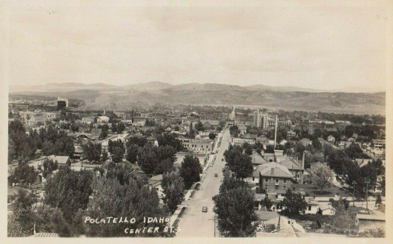 RP: POCATELLO , Idaho , 1930s ; Center Street