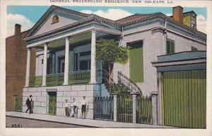 General Beauegard Resdience, NEW ORLEANS, Louisiana, 10-20s