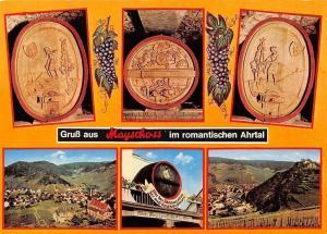 Gruss aus Mayschoss im Romantischen Ahrtal Gesamtansicht, Barrels Panorama
