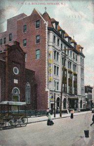 NEWARK , New Jersey, PU-1910; Y.M.C.A. Building