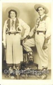 Mr. & Mrs Fischer, Biggest Couple The Biggest Couple Postcard Post Card, Cart...