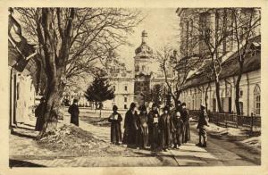 ukraine russia, KIEV KYIV, Interior View of the Monastery (1910s)