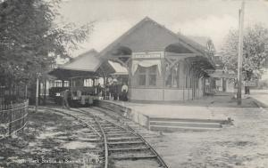SUMMIT HILL, Pennsylvania, 00-10s; Switch Back Railroad Station