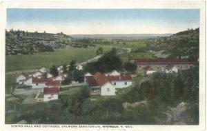 W/B Buildings at Valmora Sanatorium Watrous New Mexico NM