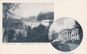 2-Views, The Albright Art Gallery, Historical Society Building, BUFFALO, New ...