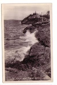 Real Photo Scene at Tobermory, 377, Ontario, AZO