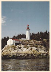 Lighthouse , Point Atkinson , West Vancouver , B.C. , Canada , 50-70s #2