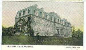 University of New Brunswick, Fredericton NB