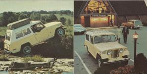 ADV: 1970s 'JEEPSTER COMMANDO', 4-wheel drive, # 2