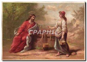 Chromo Woman and Christ