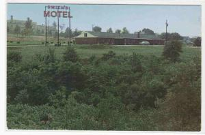 Smith Rest Nest Motel New Stanton PA 1960 postcard