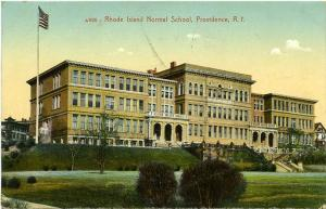 The Rhode Island Normal School - Providence RI, Rhode Island - pm 1909