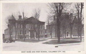 Indiana Columbia City West Ward & High School