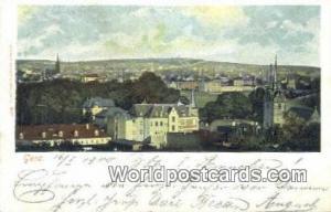 Gera Germany, Deutschland Postcard  Gera