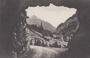 Colorado Ouray Tunnel On Million Dollar Highway Albertype