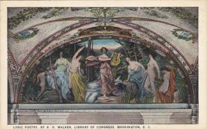 Lyric Poetry Library Of Congress Washington DC