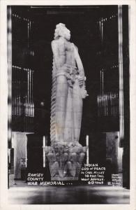 RP: Indian God of Peace , Ramsey County War Memorial , ST PAUL , Minnesota , ...