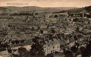 Bath from Beechen Cliff General view Postcard