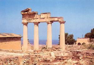 Libyan Arab Jamahiriya Cyrene Greek Propylaem