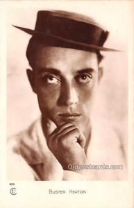 Buster Keaton Movie Star Actor Actress Film Star Postcard, Old Vintage Antiqu...