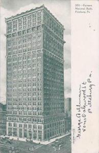 Pennsylvania Pittsburgh Farmers National Bank 1907