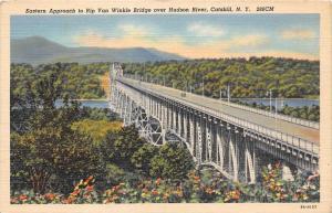 New York Catskills   Rip Van Winkle Bridge over Hudson River