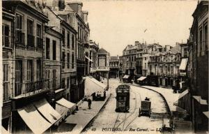 CPA POITIERS Rue Carnot (613173)