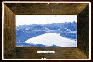 dc1790 - PORT STANLEY Ontario Postcard 1910 Kettle Creek by Atkinson