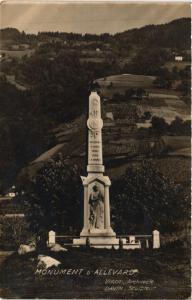 CPA Monument d'ALLEVARD (433768)
