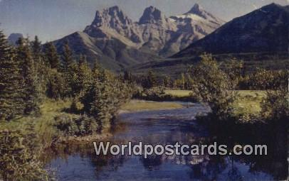 Banff National Park Canada, du Canada Three Sisters  Three Sisters