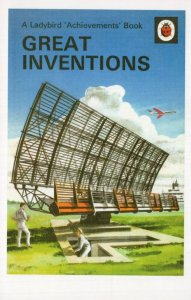 Great Inventions Achievements Ladybird 1st Edition Book Postcard