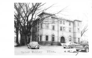 Water Valley Mississippi Historic Bldg Real Photo Antique Postcard K29306
