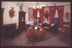 Longfellow House Craigie Cambridge Massachusetts Church Hills Interior Postcard