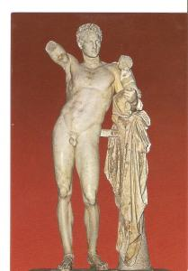 Postal 029814 : Olympia - Statue of Hermes by Praxiteles