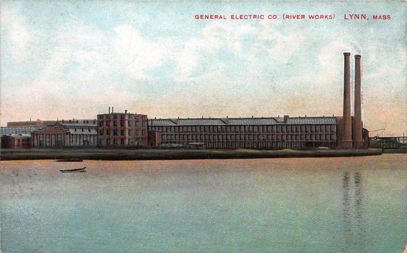 General Electric Co., River Works, Lynn, Massachusetts, Early Postcard