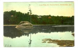 Lone Pine, St. Francis River, Sherbrooke, Quebec, 00-10s