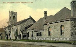 Zion Reformed Church Hagerstown MD 1913